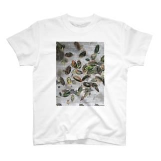 柿の葉 T-shirts