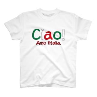 イタリア好き T-shirts
