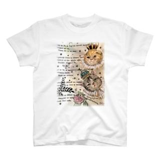 グレ&ゴル 王族猫 T-shirts