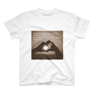 ハートのかたち T-shirts