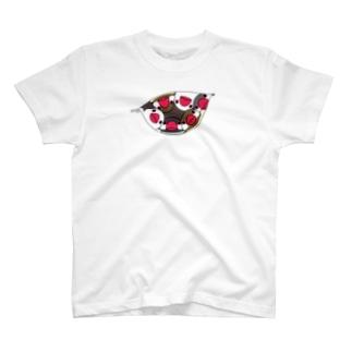 三密です!むちむち文鳥さん【まめるりはことり】 T-shirts