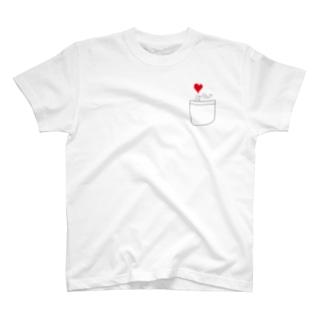 ポケットからキュン T-shirts