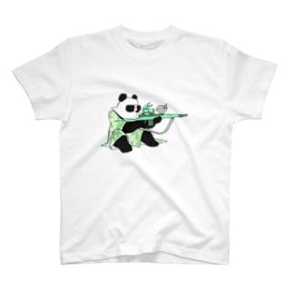 スナイプぱんだ T-shirts