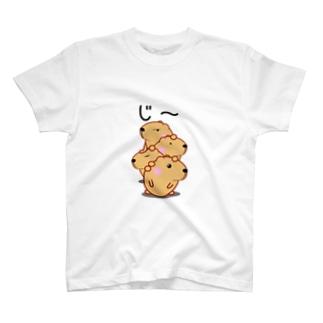 きゃぴばら【じ~】 T-shirts