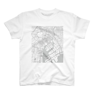 CHUO-KU, TOKYO, JAPAN(東京都中央区) T-shirts