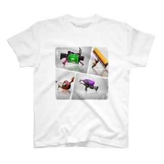 いかほーし初期組ワロタ T-shirts