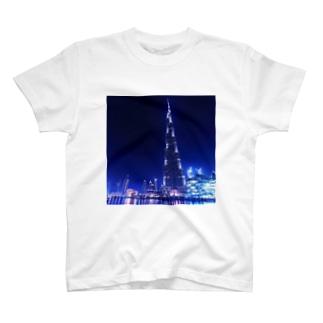 夜景8 T-shirts