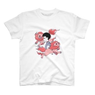 獅子座の女Tシャツ T-shirts