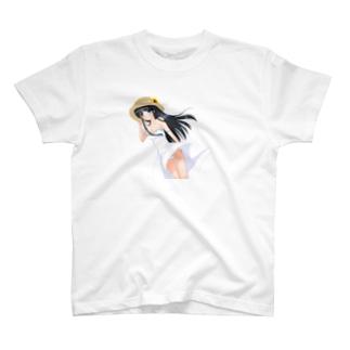 夏のお姉さん T-shirts