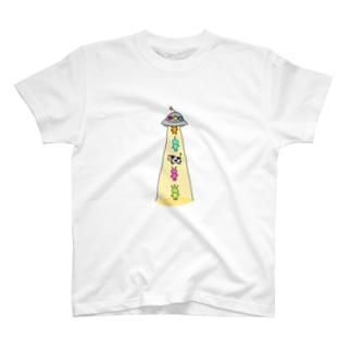 あぶだくしょん T-shirts