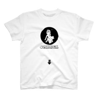 即売会場のOMANGAのひみつ T-shirts
