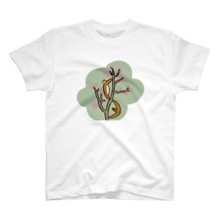 サルスベリ T-shirts