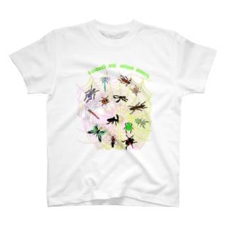 昆虫ワールド T-shirts