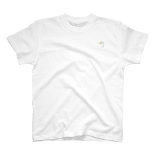 桃星雲 〜小桜みみなのお店〜のバナナうさぎ(ミニ) T-shirts