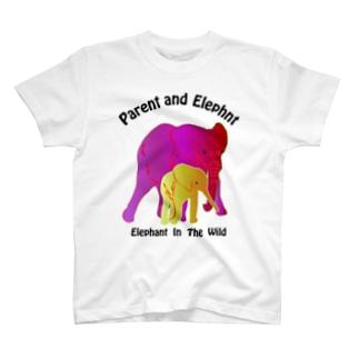 親子の像 T-shirts