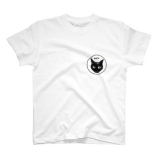 スモーキー猫 カッツ君アイコン T-shirts
