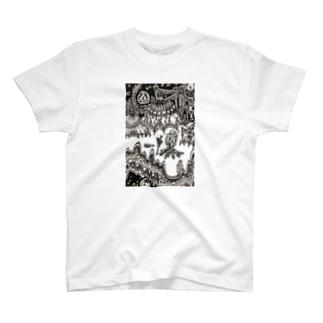 キャンプファイア T-shirts