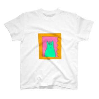 肖像画A T-shirts