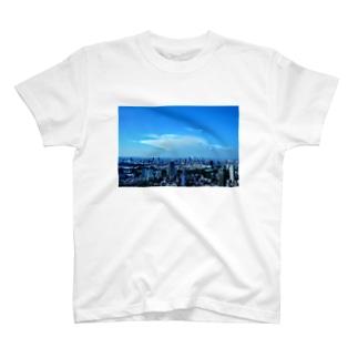 都会の空 T-shirts