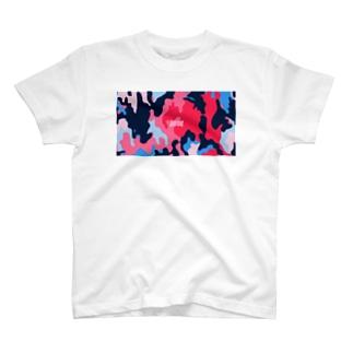 迷彩(色の組み合わせ) T-shirts
