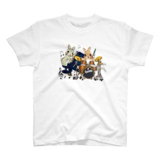 うさぎユニット♪ T-shirts
