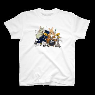 アトリエねぎやまのうさぎユニット♪ T-shirts