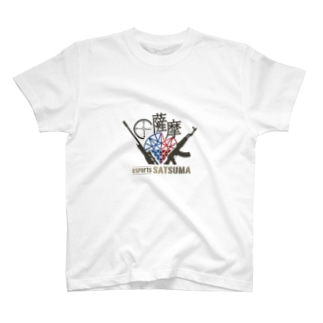 esports薩摩ロゴ入りTシャツ T-shirts