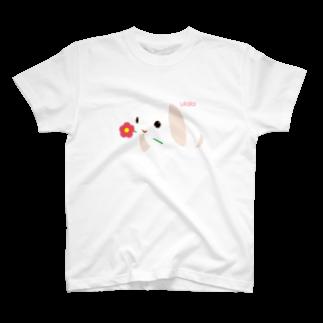 Parafamilyのニコさんちのうららちゃん T-shirts