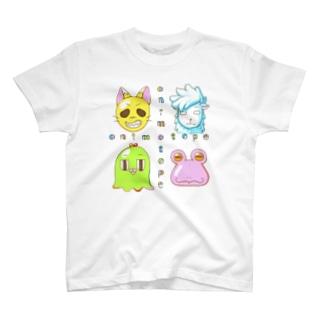 アニマトペ 4人セット T-shirts