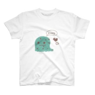 でろでろyummy(チョコミント) T-shirts