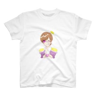 決まらない王子様 T-shirts