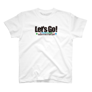 Let's Go! to Proxima Centauri グッズ黒字 T-shirts