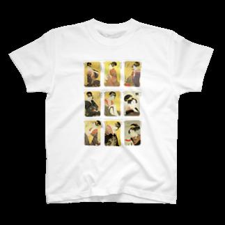 安永峰夫の歌麿A T-shirts