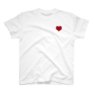 脈打つHeart T-shirts
