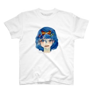憂鬱、雪白姫。 T-Shirt
