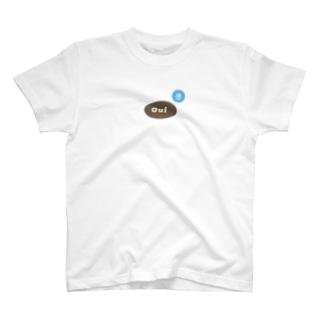 ばらの花とOui T-shirts