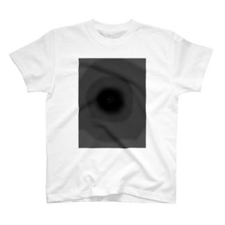 黒クロぶらっくブラックBLACK T-shirts
