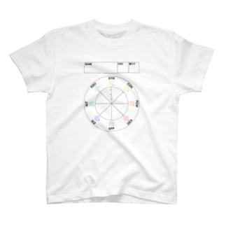 CoCステータス名前付rb T-shirts