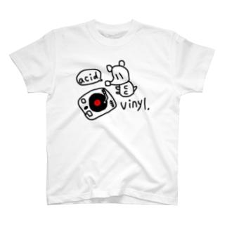 アシッドねずみとレコード T-shirts