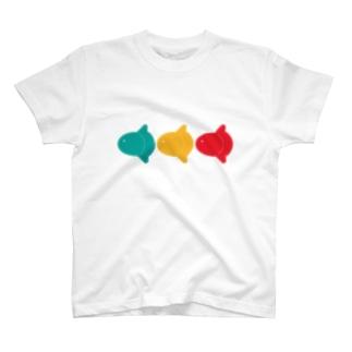信号なマンボウ T-shirts