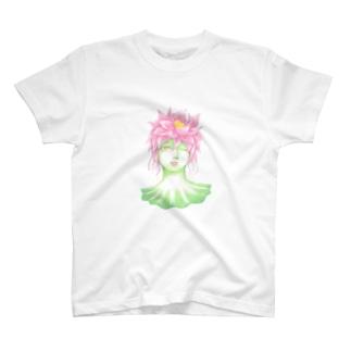 花信風のお店の蓮の精 T-shirts