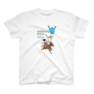 Hidesato&Doumeki ShopのHIDESATO STYLE T-shirts