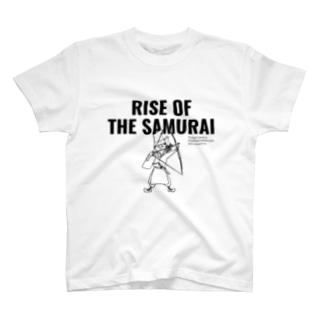 Hidesato&Doumeki ShopのRISE OF THE SAMURAI T-shirts