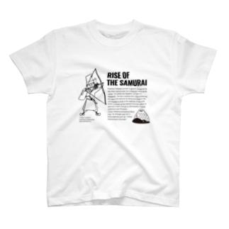 RISE OF THE SAMURAI/英文入り T-shirts