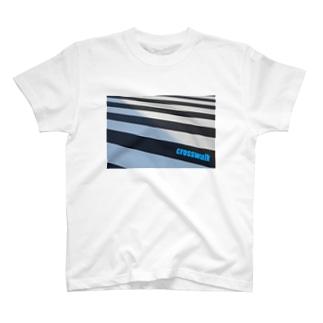 横断歩道 T-shirts