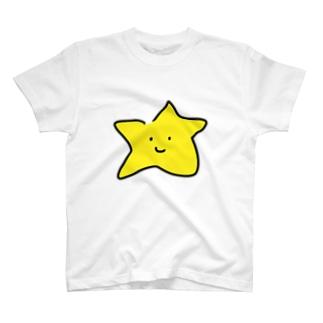 スターくんTシャツ T-shirts