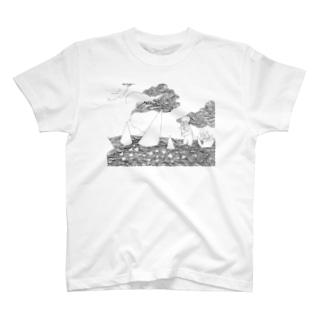 さんかくあつめ T-shirts