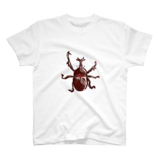 カブトムシ T-Shirt