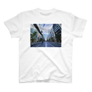 銀座雨上がり T-shirts