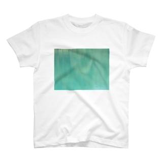 ブルー01 T-shirts